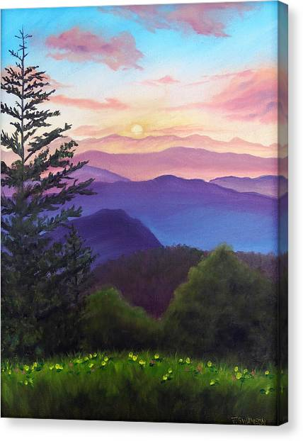 His Mercies Are New Every Morning Canvas Print by Joan Swanson
