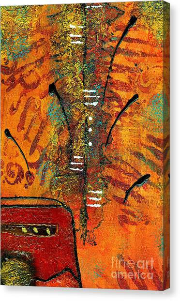 His Vase Canvas Print