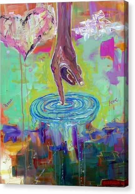 His Ways Are Higher Canvas Print by Dawn Gray Moraga