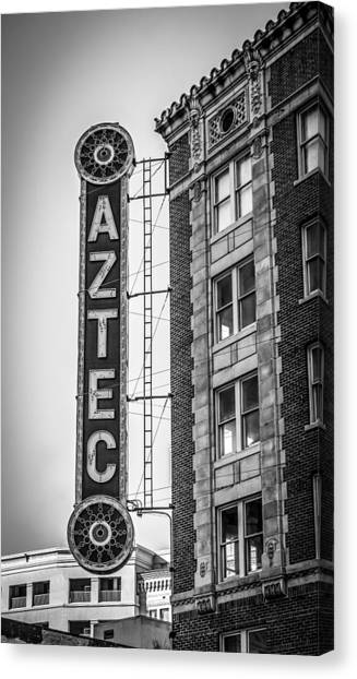 Historic Aztec Theater Canvas Print