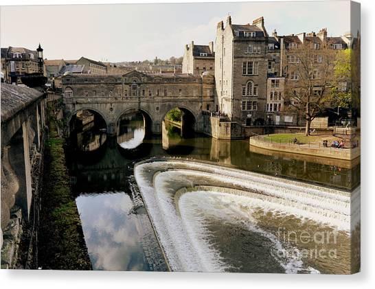 Historic Bath Canvas Print