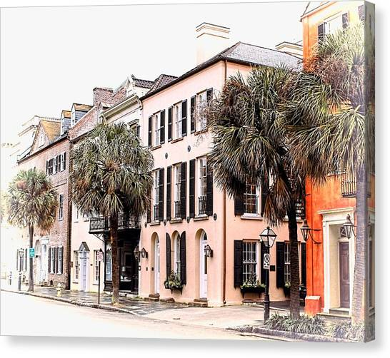 Historic Charleston Canvas Print