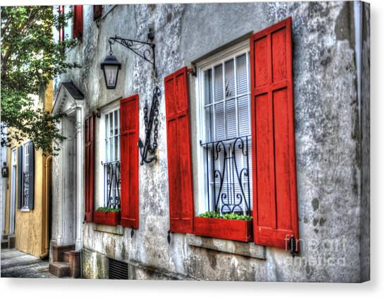 Historic Charleston Pirates House Canvas Print