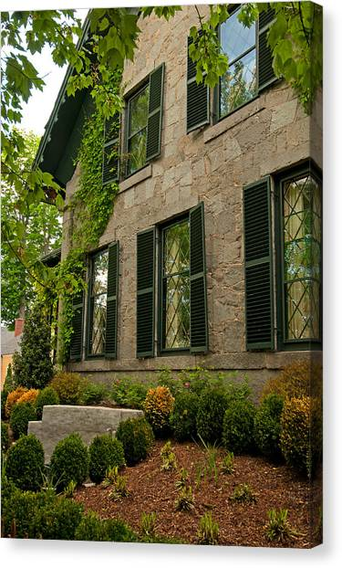 Historic Concord Home Canvas Print