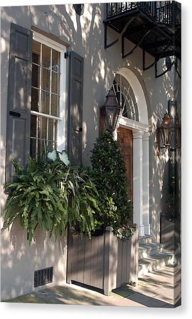 Historic Home - Charleston Canvas Print