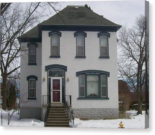 Historic Home Menominee Canvas Print