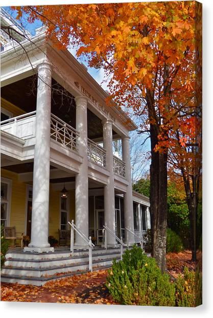 Historic Inn In Ashland Va Canvas Print