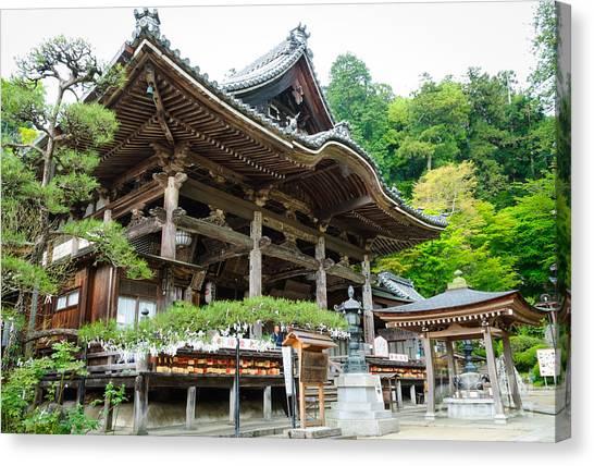 Historic Japanese Temple Canvas Print