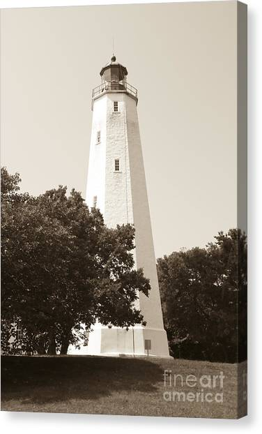 Historic Sandy Hook Lighthouse Canvas Print