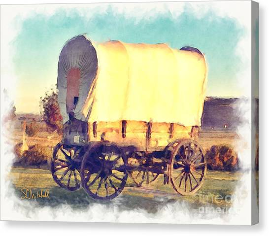 Hitch Your Wagon Canvas Print