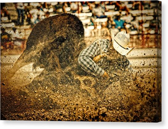 Hittin' The Dirt Canvas Print