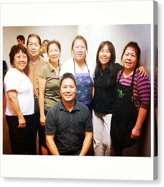 Ponies Canvas Print - Hmong New Hope Alliance Came And Served by Pony Thao