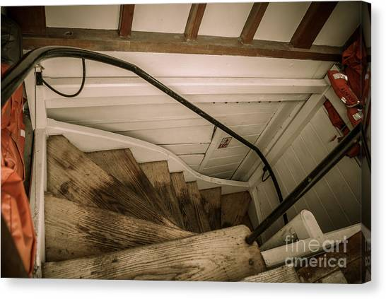 Hms Bounty Steps Canvas Print