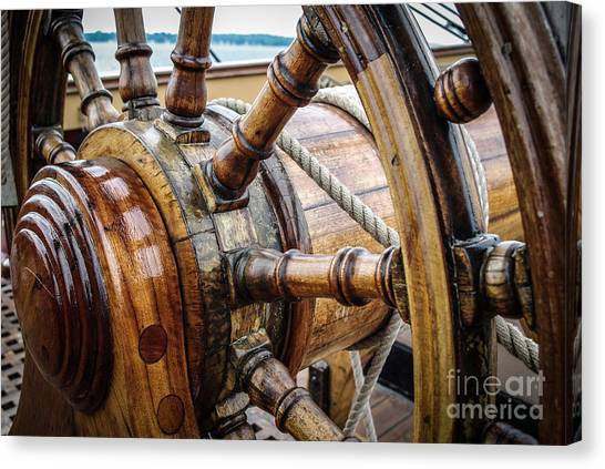 Hms Wheelie Canvas Print