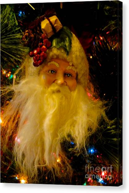 Ho Ho Ho Merry Christmas Canvas Print