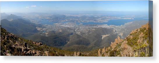 Hobart City Canvas Print