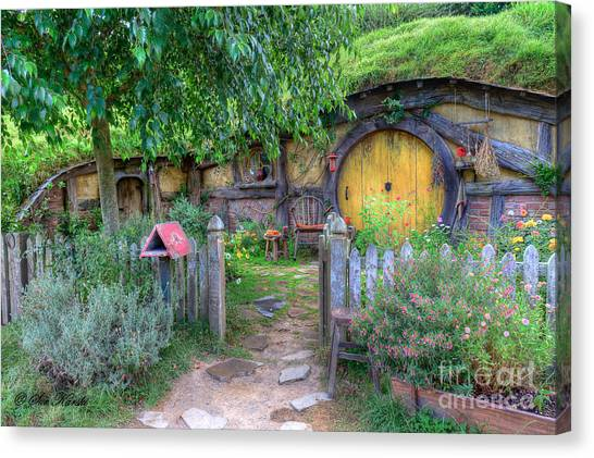 Hobbit Hole 2 Canvas Print