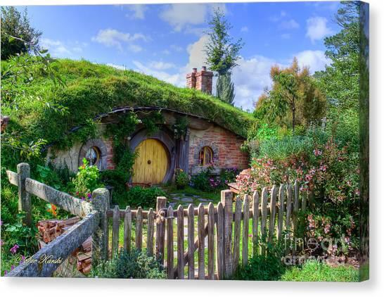 Hobbit Hole 7a Canvas Print