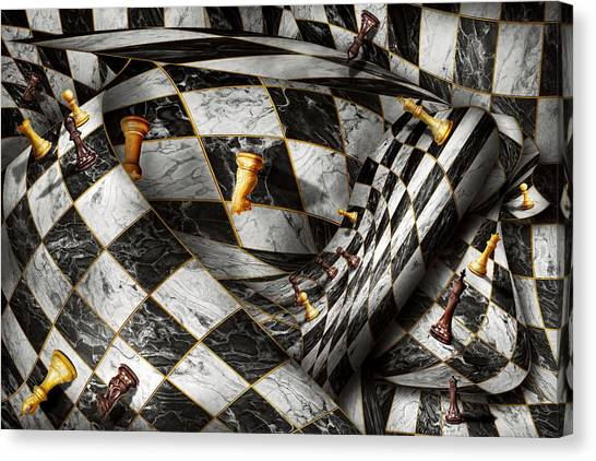 Chess King Canvas Print - Hobby - Chess - Your Move by Mike Savad