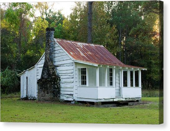 Hobcaw Cabin Canvas Print