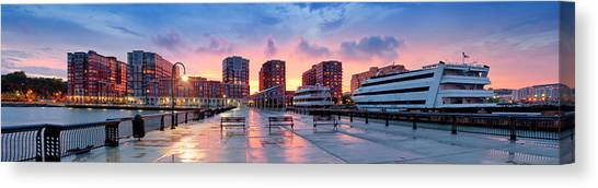 Hoboken New Jersey Canvas Print
