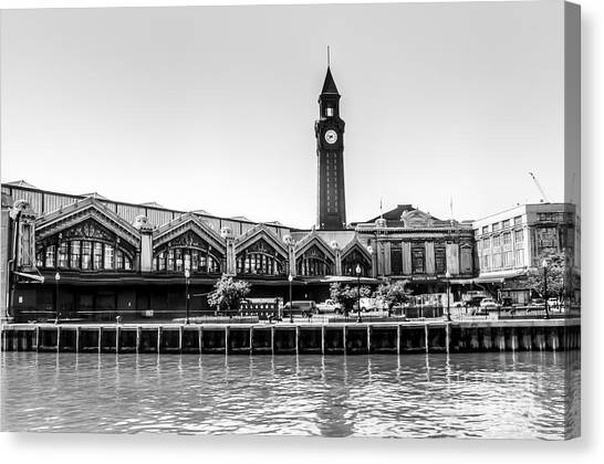 Hoboken Terminal Tower Canvas Print