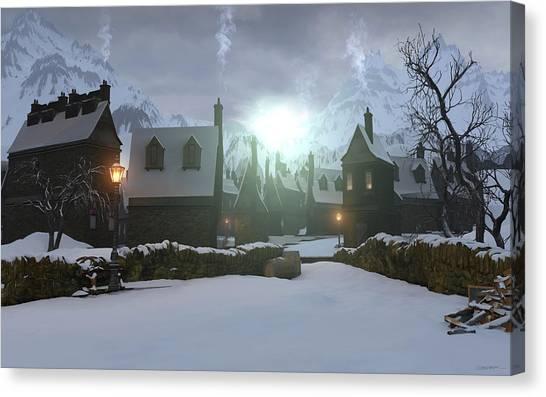 Hogsmeade Canvas Print