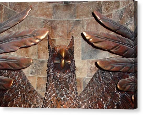 Hogwarts Hippogriff Guardian Canvas Print