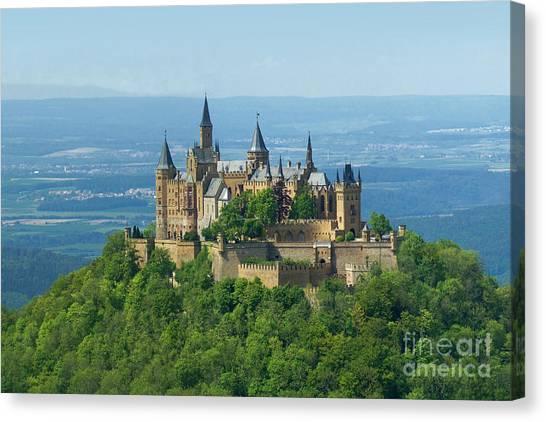 Hohenzollern Castle 5 Canvas Print