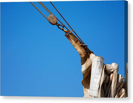 Hoist The Sails. Canvas Print