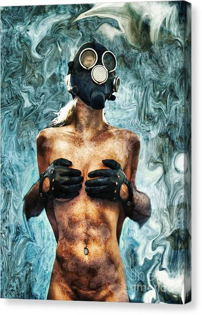 Breathe Canvas Print - Hold Me If I M Dying 2 by Stelios Kleanthous