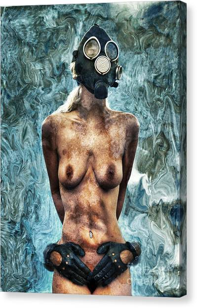 Breathe Canvas Print - Hold Me If I M Dying 3 by Stelios Kleanthous