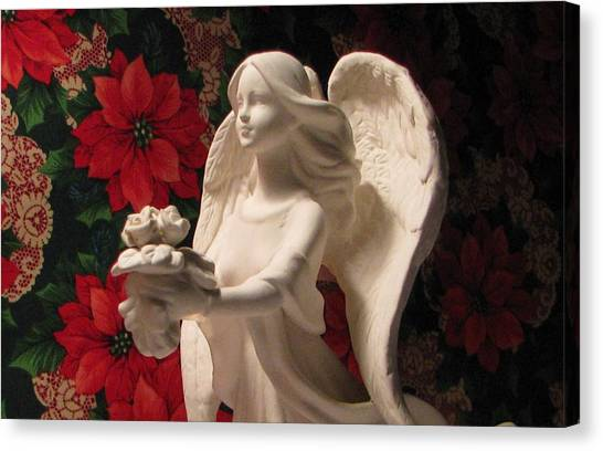 Holiday Childrens  Angel  Canvas Print