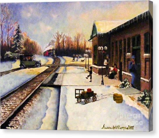 Holiday Depot 1932 Canvas Print