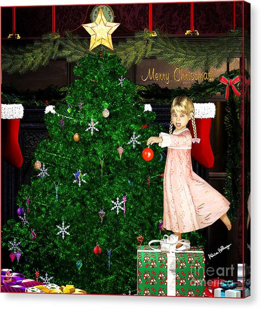 Holiday Dreams Canvas Print