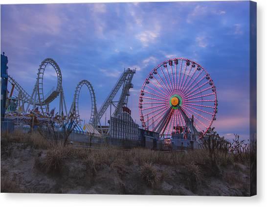 Holiday Ferris Wheel Canvas Print