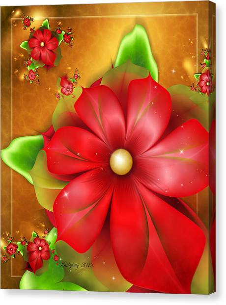 Holiday Glow Canvas Print