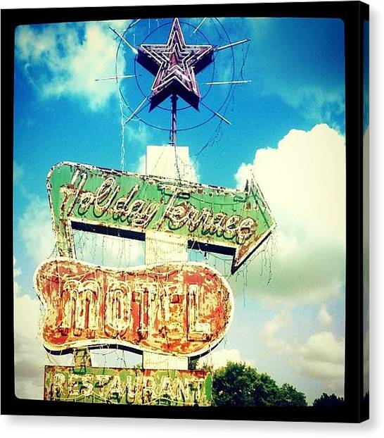United States Of America Canvas Print - Holiday Terrace by Scott Pellegrin