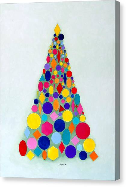 Holiday Tree #1 Canvas Print