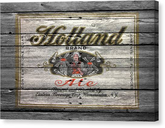 Beer Can Canvas Print - Holland Ale by Joe Hamilton