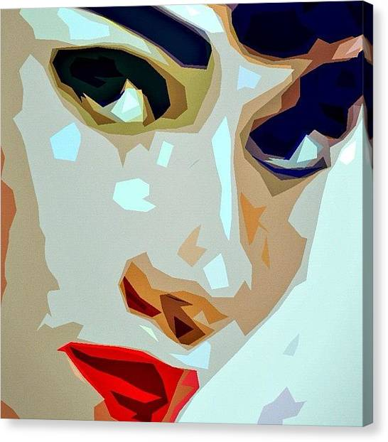 Audrey Hepburn Canvas Print - Holly Golightly by Jessica McDade