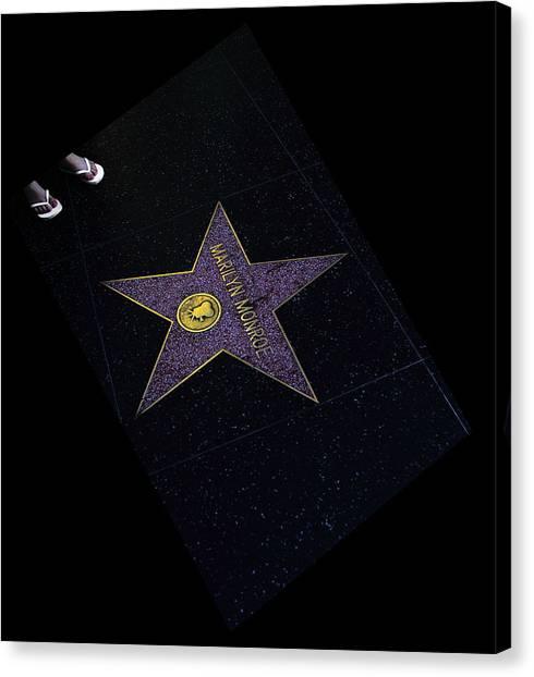 Hollywood Star Canvas Print