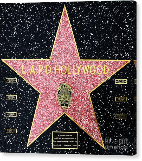 Hollywood Blvd Canvas Prints | Pixels