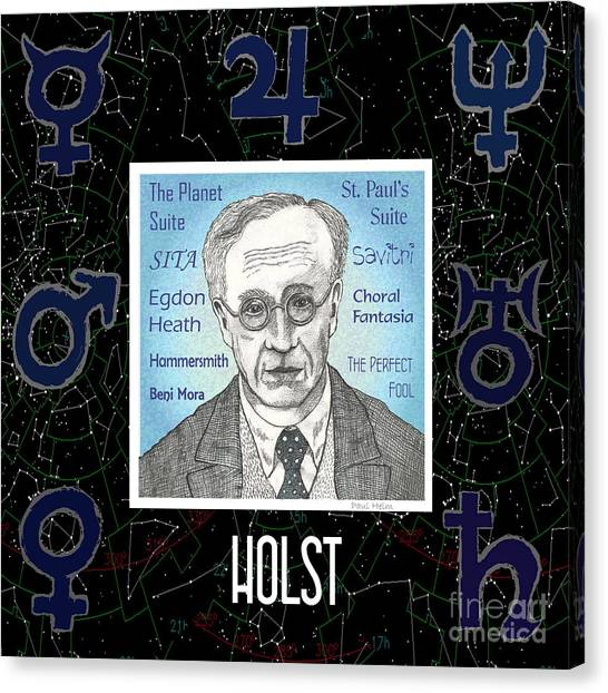 Holst Canvas Print by Paul Helm