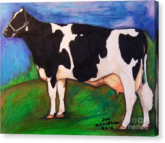 Holstein Canvas Print