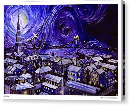 Holy City Canvas Print