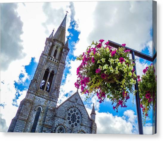 Holy Cross Church Steeple Charleville Ireland Canvas Print