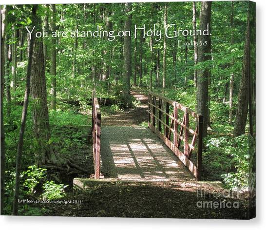 Holy Ground Canvas Print