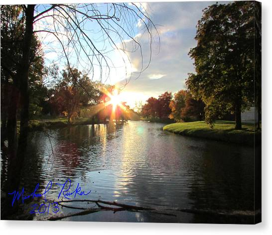 Holy Ground Canvas Print by Michael Rucker