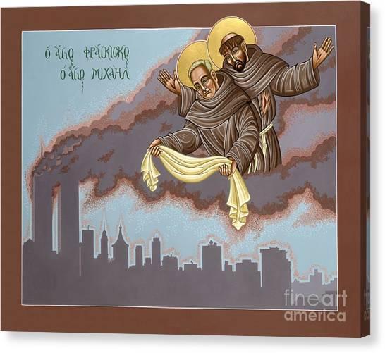 Holy Passion Bearer Mychal Judge 132 Canvas Print